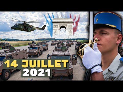 Défilé du 14 Juillet 2021 - Les coulisses