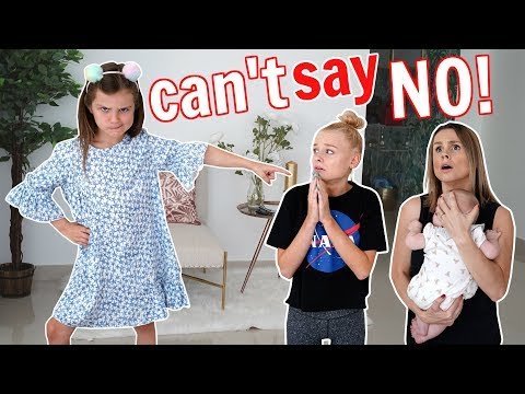 7 YR OLD SISTER CONTROLS OUR DAY!  **Parents can't say NO!**