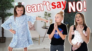 7 YR OLD SISTER CONTROLS OUR DAY!  **Parents can