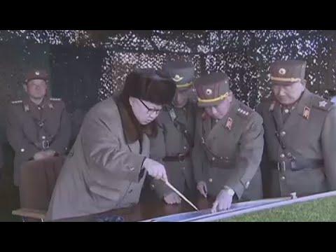 Kim Jong-un provides 'field guidance' at North Korea military drills