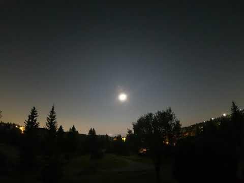 Calgary (Edgemont) Overnight Time-lapse