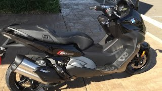 2016 BMW C650 Sport Maxi Scooter * Ride & Review