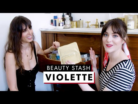 Inside Celebrity Makeup Artist Violette's MASSIVE Beauty Stash | The Beauty Show | Harper's BAZAAR