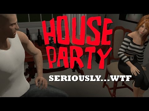 YOU CAN PULL OUT YOUR JUNK AT A PARTY?! | HOUSE PARTY GAME