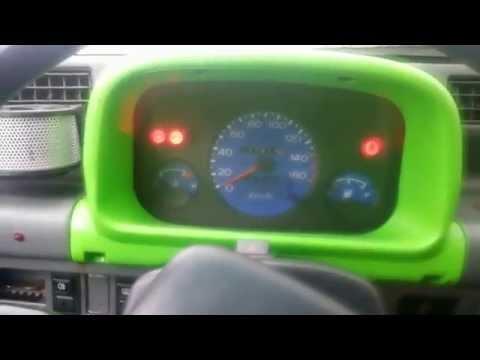Daewoo Tico cold start -10°c pornire Tico