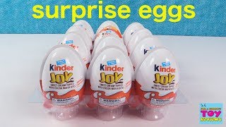 Kinder Surprise Eggs Chocolate Kinder Joy Hidden Toy Opening | PSToyReviews