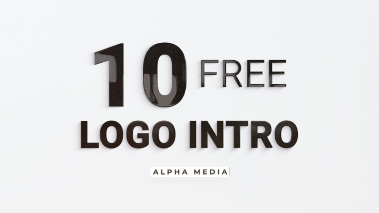 Download 10 free Amazing logo intro  After Effect Template