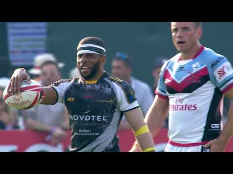 International Vets at the 2017 Emirates Airline Dubai Rugby Sevens