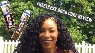 FreeTress GoGo Curl Initial and Final Hair Review: Comparison to FreeTress Deep Twist