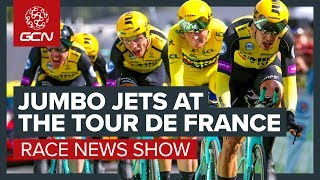 Jumbo Jets At The Tour de France | The Cycling Racing News Show