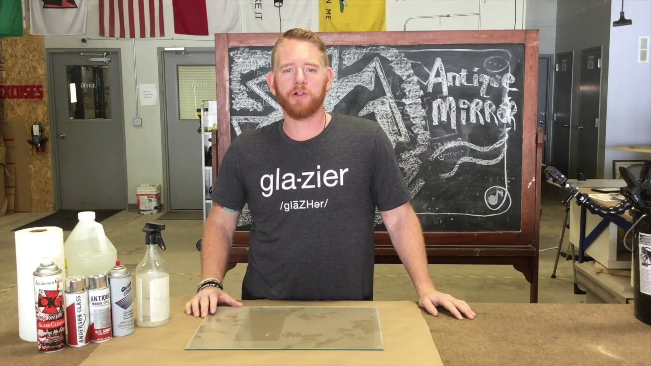 How To Diy Antique Mirror From Fixer Upper Youtube