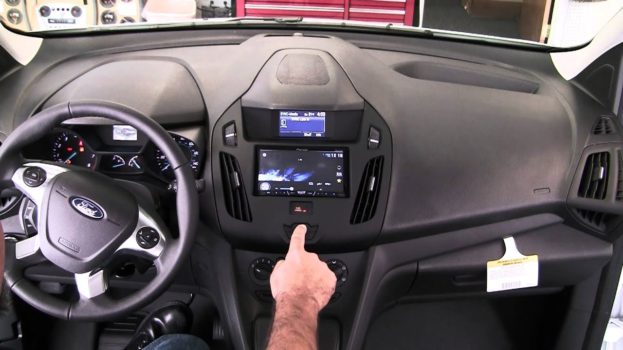 hight resolution of speaker wires ford transit connect 2014 audio navigation and sync ford transit connect forum
