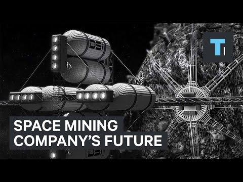 Space mining company's future vision