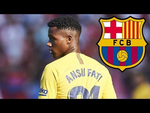Ansu Fati ● Barcelona First Team ● The Beginning 🔴🔵