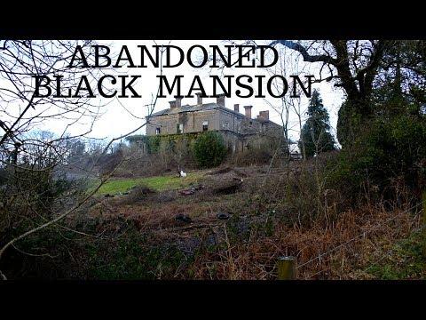 ABANDONED BLACK MANSION