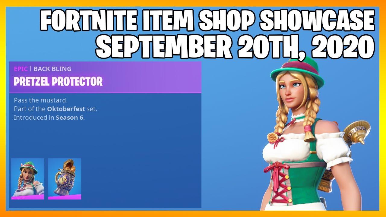 Fortnite Item Shop *RARE* HEIDI IS BACK! [September 20th, 2020] (Fortnite Battle Royale)