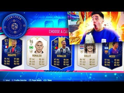 *FULL* TEAM OF THE YEAR FUTDRAFT GLITCH!!! (FIFA 19)
