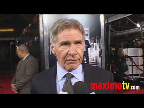 EXTRAORDINARY MEASURE Premiere Arrivals Harrison Ford & Keri Russell