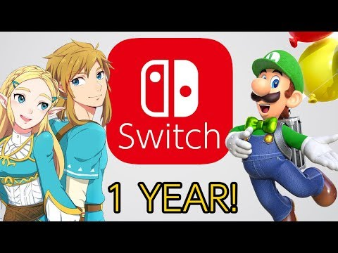 Nintendo Switchs Perfect Year!