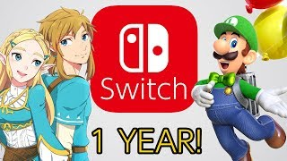 Nintendo Switch's Perfect Year!