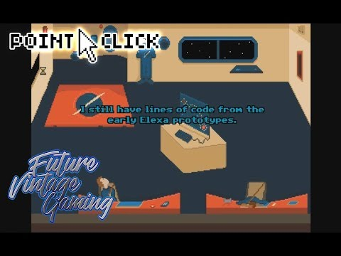 Wilfred: 2088 ~ Free Retro Scifi Pixel Art Point and Click Adventure Game (AGS)