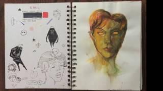 Rejected ;0✨ Calarts Sketchbook 2017