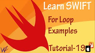 For Loop in Swift Programming - Tutorial 19