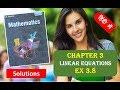 RD SHARMA Solutions Class 10 Maths Chapter 3 Linear Equations Ex 3.8 हिंदी