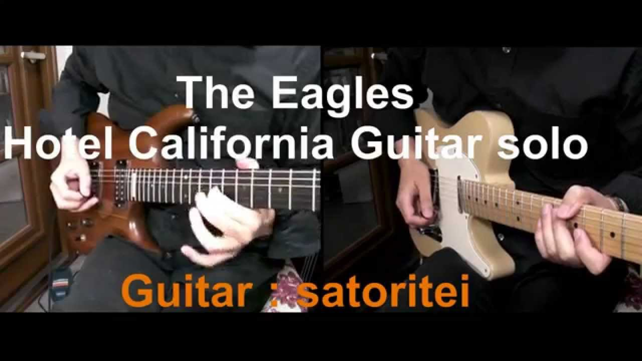 how to play hotel california solo