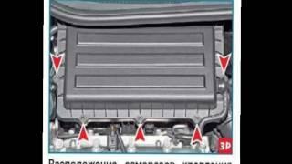 видео Замена воздушного фильтра Поло седан