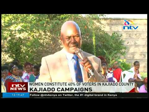 Search for women vote intensifies in Kajiado county as incumbent governor seeks second term