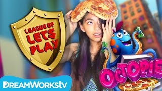 OctoPie - A Game Shakers App MESSY PIZZA Challenge | LEAGUE OF LET'S PLAY