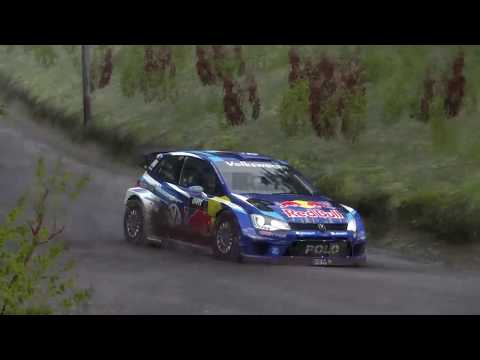 DiRT Rally Replay No Assists Kontinjarvi, Finland w/2010s VW Polo (07:09:266)