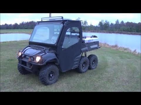 2003 Polaris Ranger 6x6 Quot Soft Door Install Quot Youtube