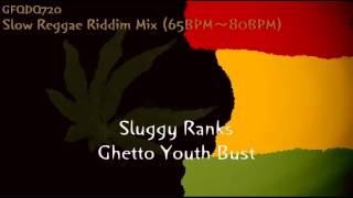 Slow Reggae Riddim Mix (65BPM~80BPM)