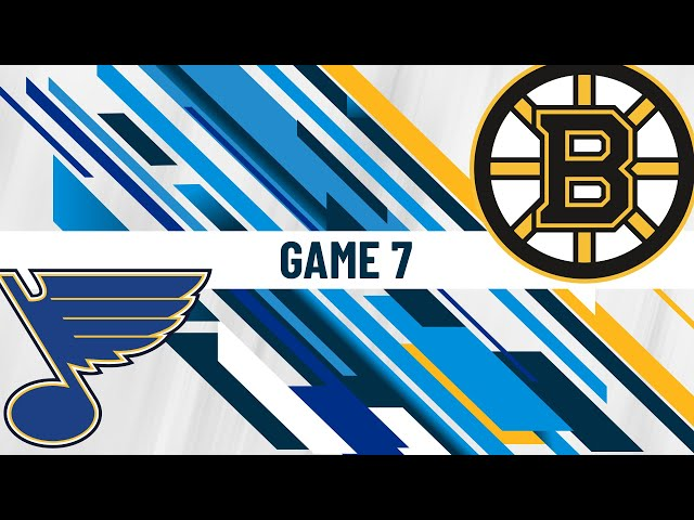 Stanley Cup Final Game 7 - First Intermission