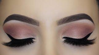 Soft Mauve Winged Liner Makeup Tutorial thumbnail