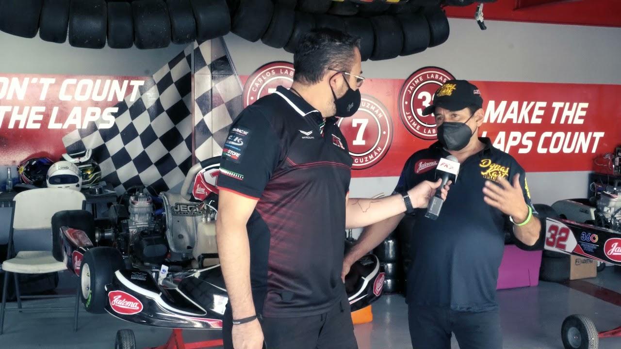 Entrevista José Antonio Sánchez el Donas Fecha 3 Fórmula Karts