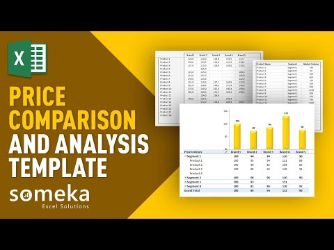 Price Comparison Tool: Excel Template for Competitive Analysis