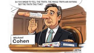 7 hilariously brutal cartoons about Michael Cohen's congressional testimony