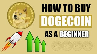 How To Buy DOGECOIN 🤑 For Beginners