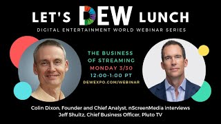 Let's DEW Lunch Webinar with Pluto TV (March 30, 2020)