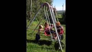 Jakob pushing (arthrogryposis shoulder strength