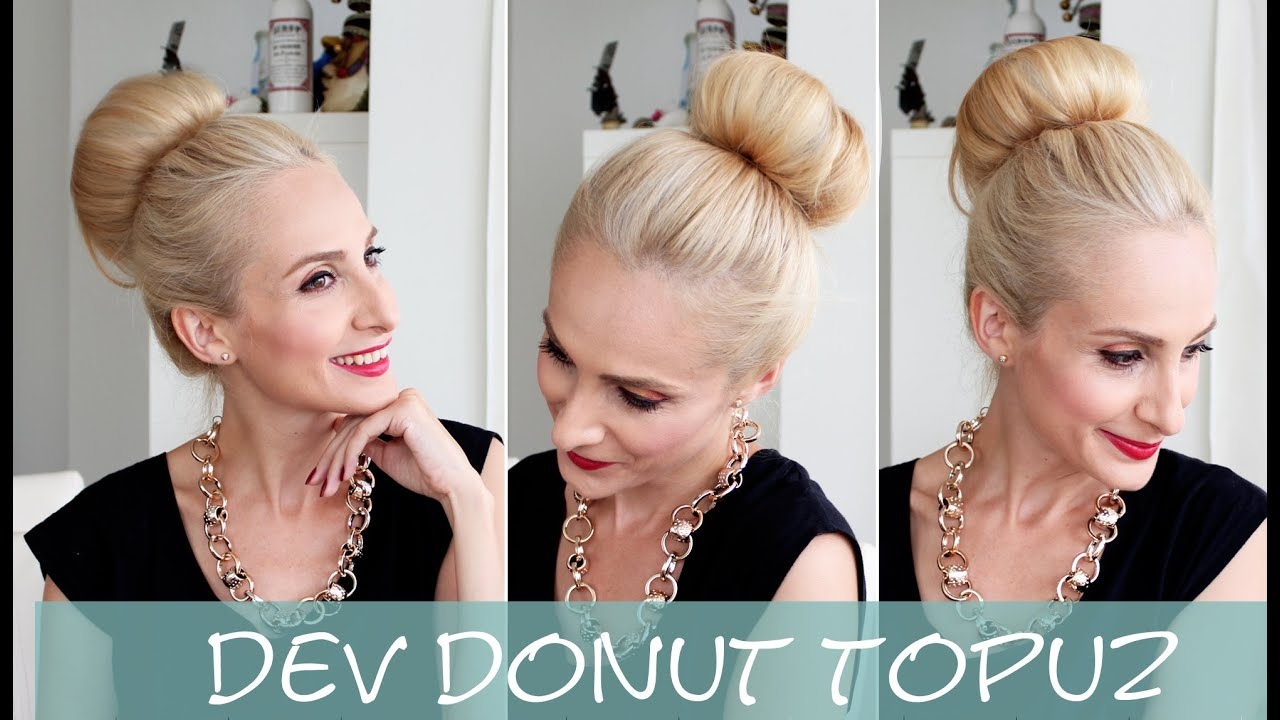 Donut Topuz Nasıl Yapılır