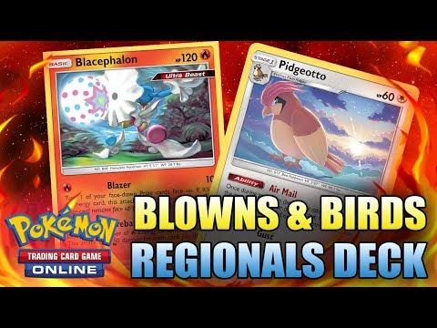 BABY BLACEPHALON + PIDGEOTTO = SUCCESS!? REGIONALS TOP DECK (Pokemon TCG)