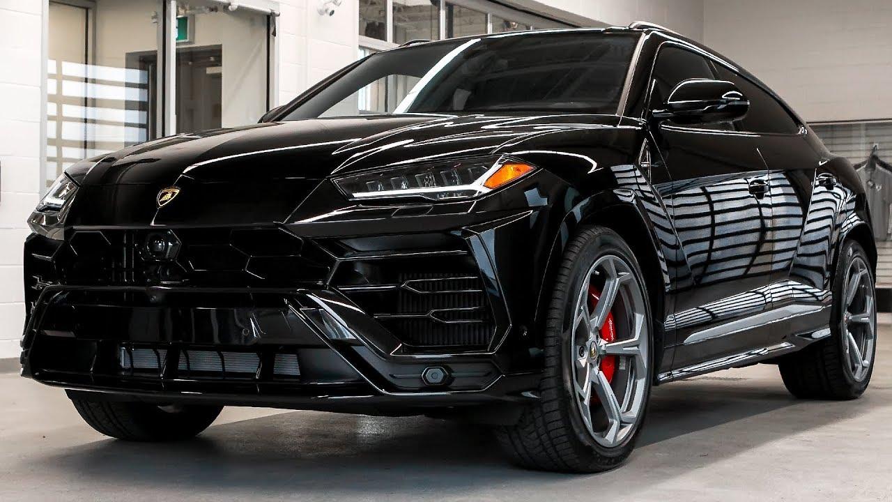 Delivery Of A 2019 Lamborghini URUS In Nero Noctis