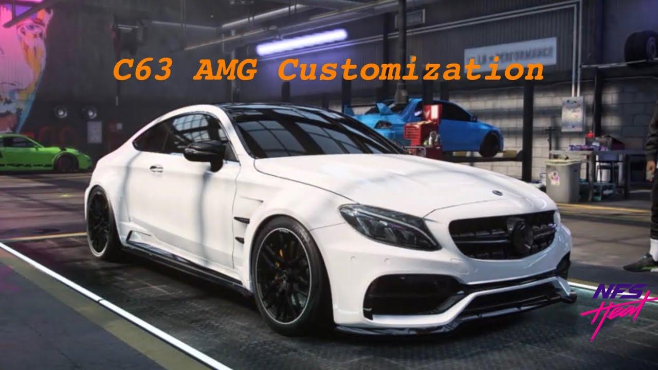 Need for speed Heat - Mercedes Benz C63 Customization