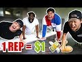 1 REP = $1 DOLLAR (10,000 PUSH UP CHALLENGE W/ TEAM ALBOE!!)  *PART 2*