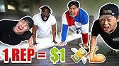 1 REP = $1 DOLLAR (10,000 PUSH UP CHALLENGE W/ TEAM ALBOE!!)*PART 2*
