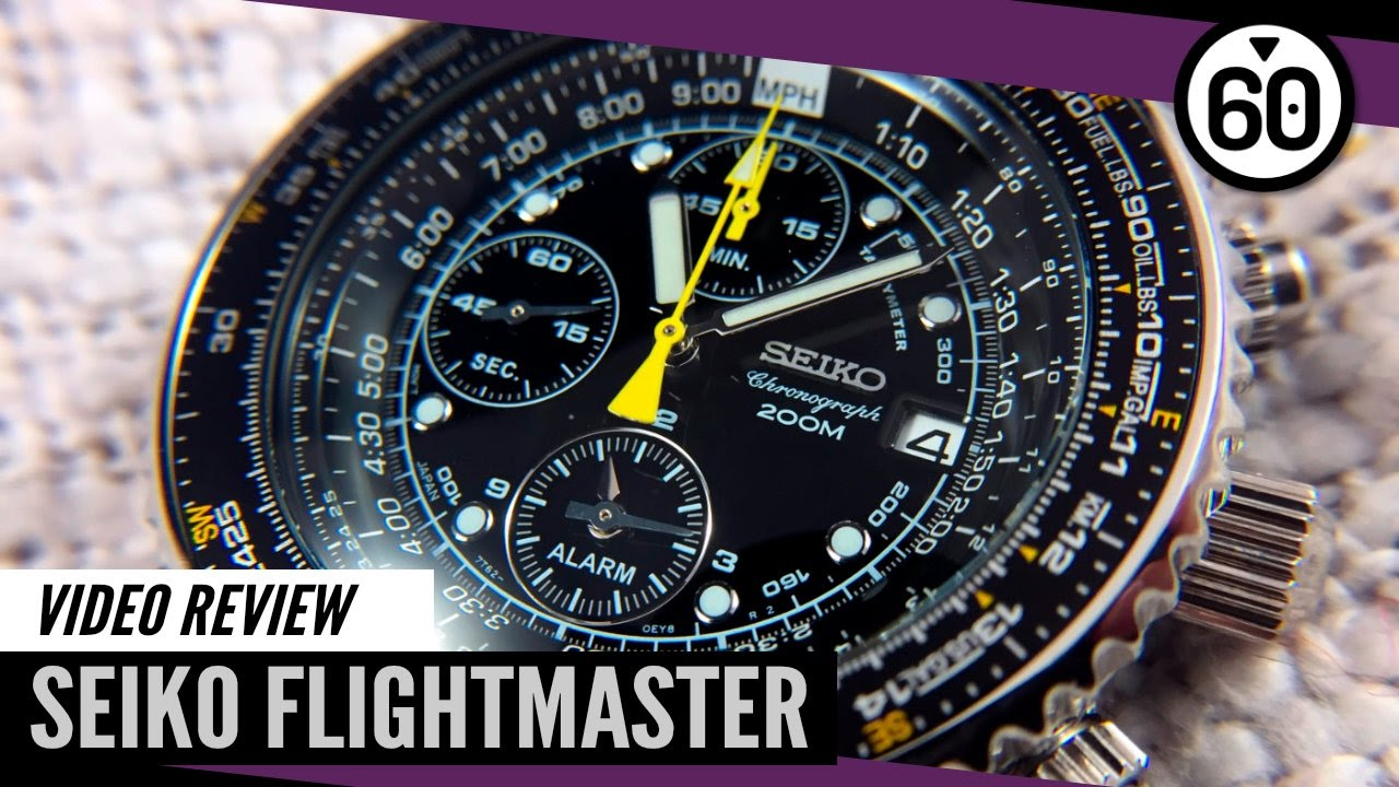 Seiko Flightmaster SNA411 Review – 60CLICKS - YouTube